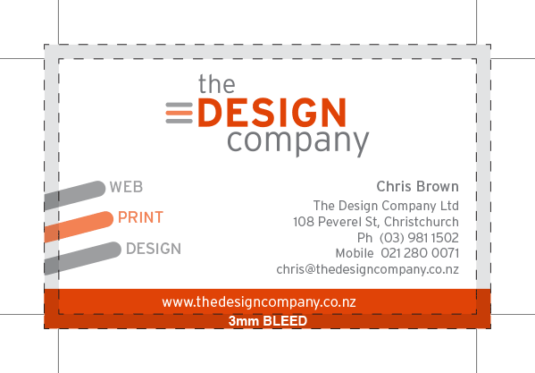 TDC BusinessCard spec